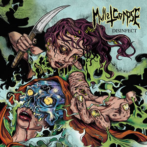 MULLETCORPSE - DISINFECT CD