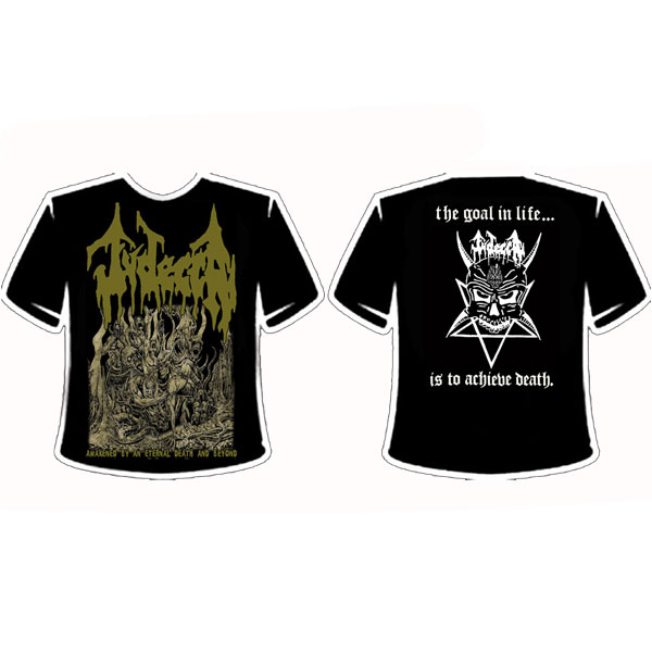 JUDECCA - ¨AWAKENED BY AN ETERNAL DEATH AND BEYOND¨ T-SHIRT