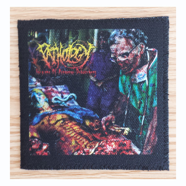 PATHOLOGY - INCISIONS OF PERVERSE DEBAUCHERY PATCH