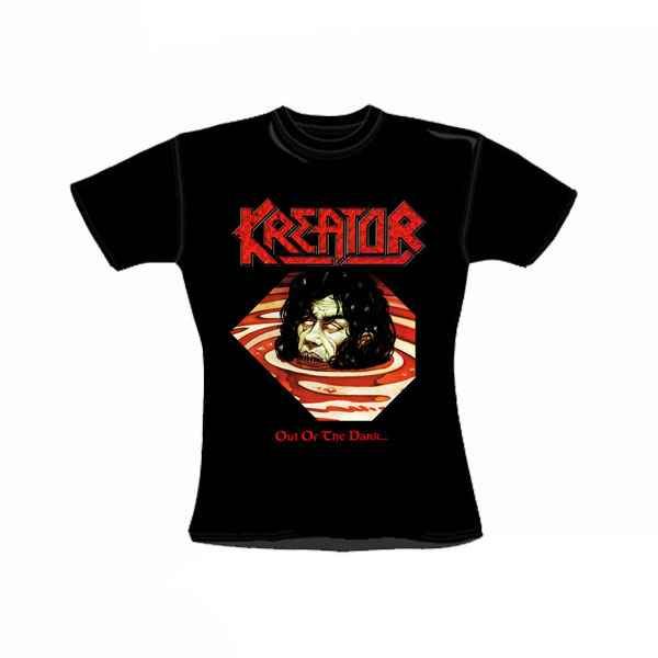 KREATOR - OUT OF THE DARK... GIRLY T-SHIRT