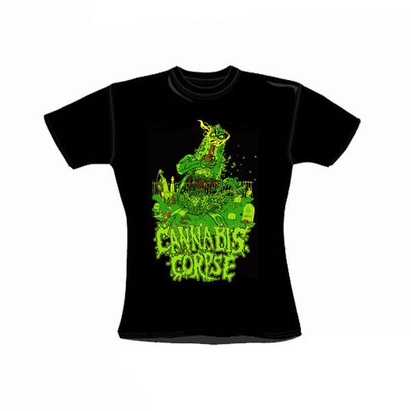 CANNABIS CORPSE GIRLY T-SHIRT