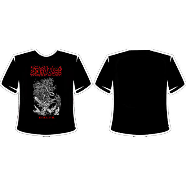 CONVULSE - INNER EVIL T-SHIRT