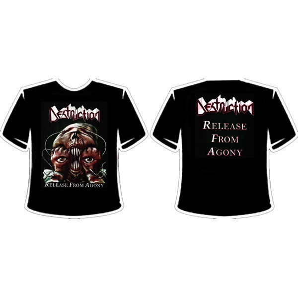 DESTRUCTION - RELEASE FROM AGONY T-SHIRT