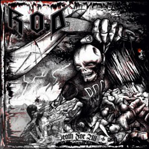 R.O.D. - DEATH FOR ALL CD