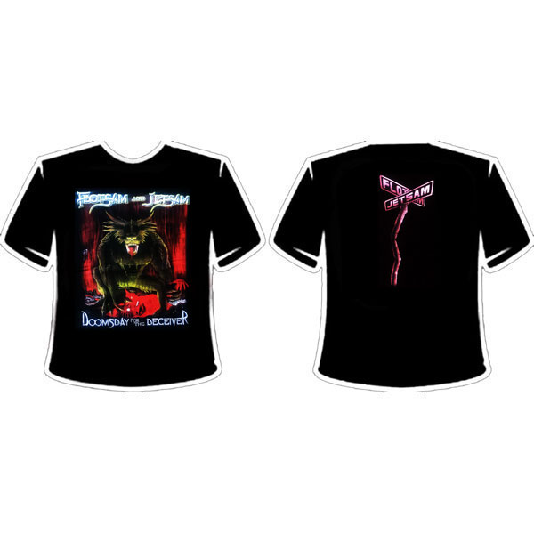FLOTSAM AND JETSAM - DOOMSDAY FOR THE DECEIVER T-SHIRT