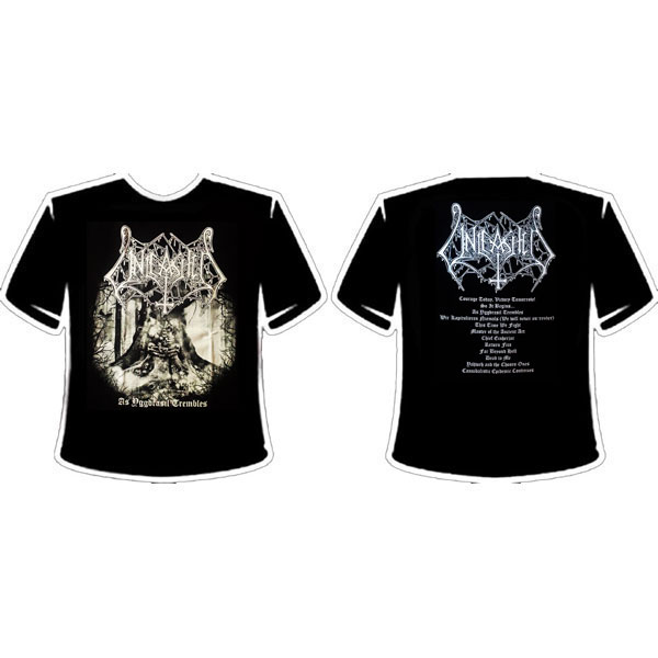 UNLEASHED - AS YGGDRASIL TREMBLES T-SHIRT