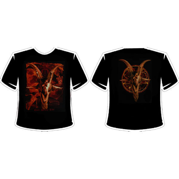 VITAL REMAINS - EVIL DEATH LIVE T-SHIRT