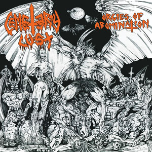 CEMETERY LUST - ORGIES OF ABOMINATION CD