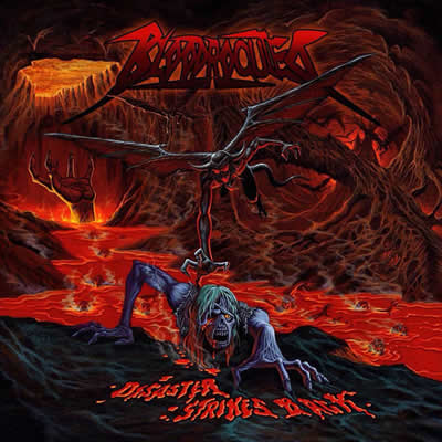 BLOODROCUTED - DISASTER STRIKES BACK CD