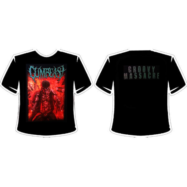 CUMBEAST - GROOVY MASSACRE T-SHIRT
