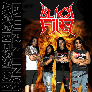 BLACK FIRE - BURNING AGGRESSION CD