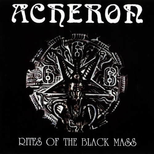 ACHERON - RITES OF THE BLACK MASS CD (OOP)