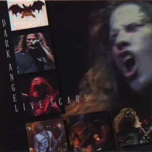 DARK ANGEL - LIVE SCARS CD (OOP)