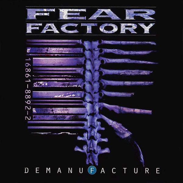 FEAR FACTORY - DEMANUFACTURE CD (1995 First Edition)