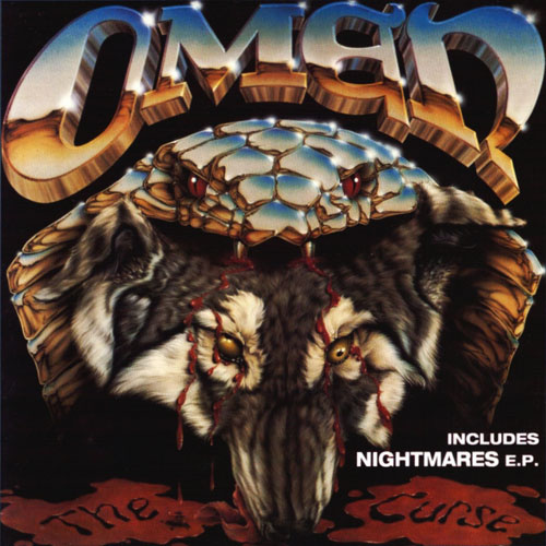 OMEN - THE CURSE/NIGHTMARES CD