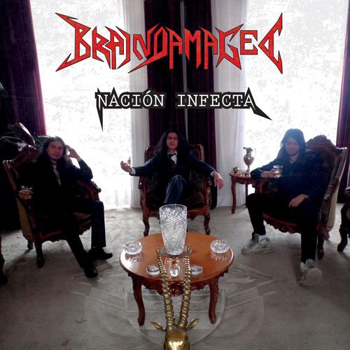 BRAIN DAMAGED - NACION INFECTA CD