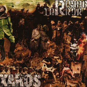 RISING TERROR / XAROS SPLIT CD