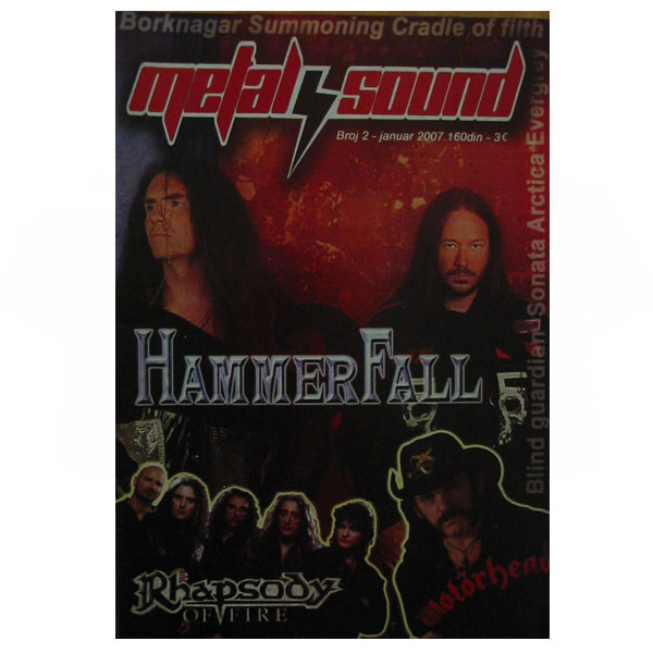 METAL SOUND ISSUE 2 (January 2007)