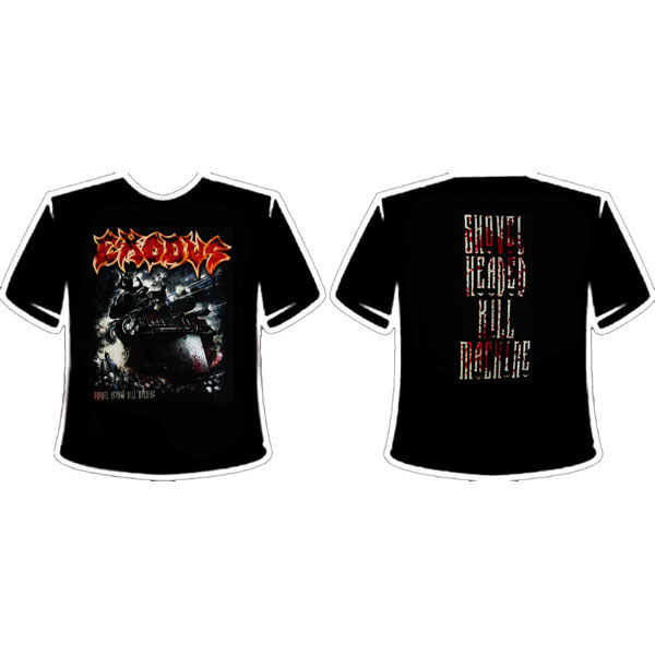 EXODUS - SHOVEL HEADED KILL MACHINE T-SHIRT
