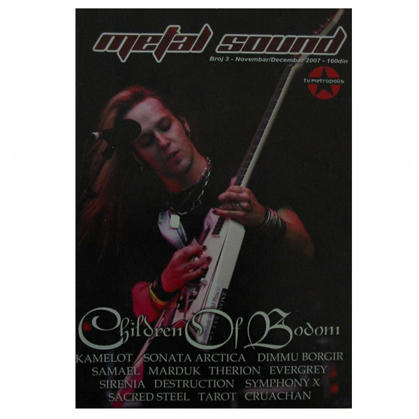 METAL SOUND ISSUE 3 (November/December 2007)