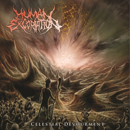 HUMAN EXCORIATION - CELESTIAL DEVOURMENT CD