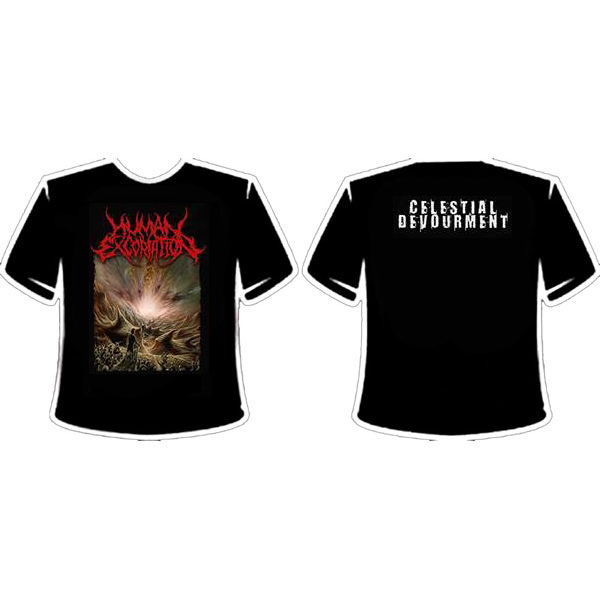 HUMAN EXCORIATION T-SHIRT