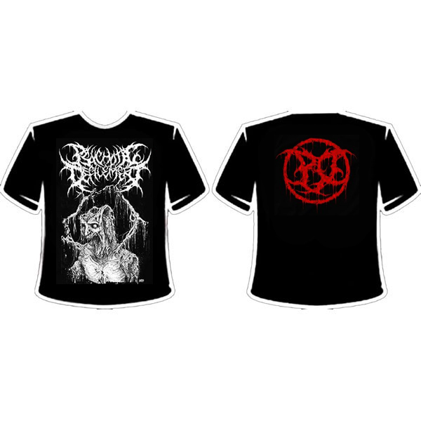 PSYCHOTIC DEFILEMENT GRUESOME T-SHIRT