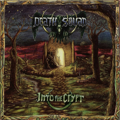DEATH SQUAD - INTO THE CRYPT / DYING ALONE CD