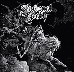 INFERNAL DEATH - A MIRROR BLACKENED / DEMO #1 CD