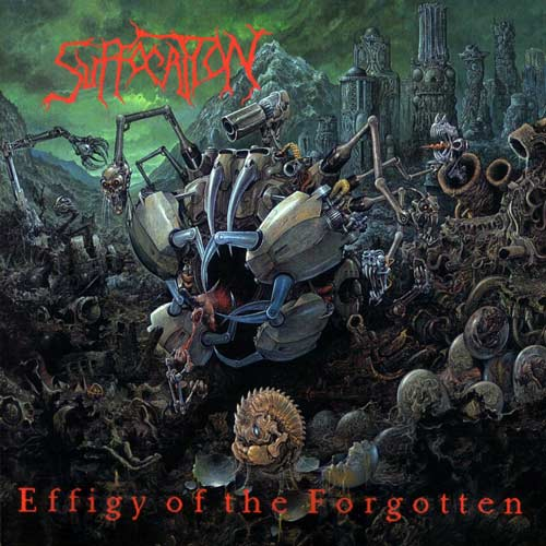 SUFFOCATION - EFFIGY OF THE FORGOTTEN CD