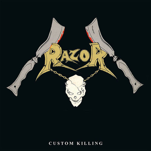 RAZOR - CUSTOM KILLING CD