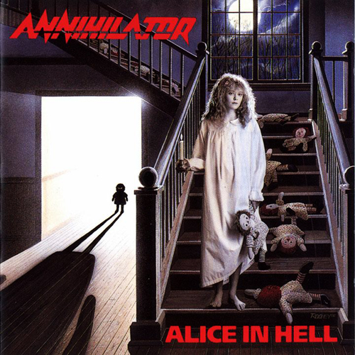 ANNIHILATOR - ALICE IN HELL CD (OOP)