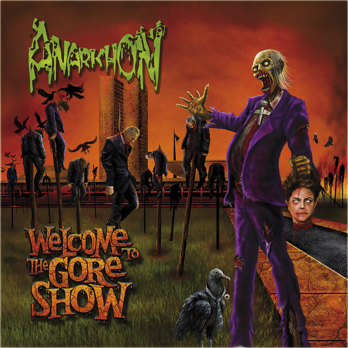 ANARKHON - WELCOME TO THE GORE SHOW CD