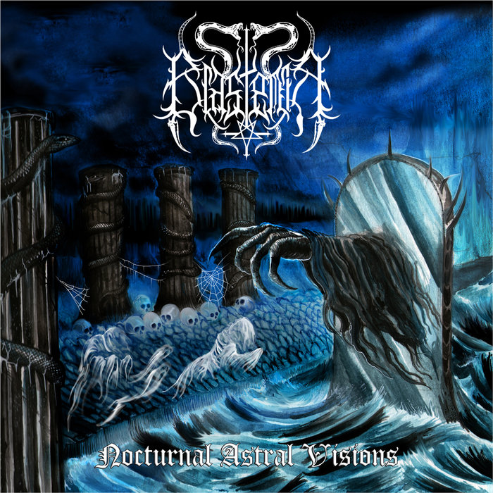 BLASFEMIA - NOCTURNAL ASTRAL VISIONS CD