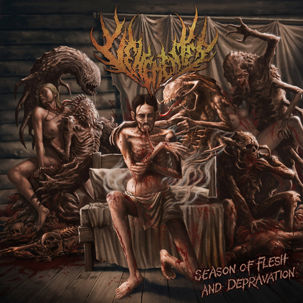 VEHEMENTER - SEASON OF FLESH AND DEPRAVATION CD