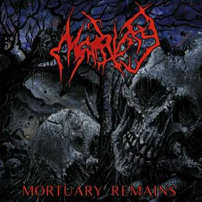 MORTIFY - MORTUARY REMAINS CD