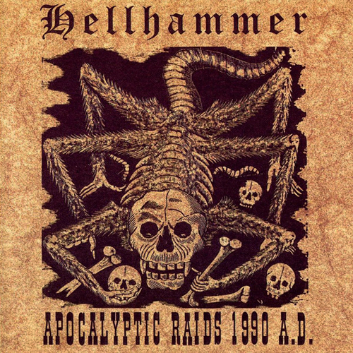 HELLHAMMER - APOCALYPTIC RAIDS 1990 A.D. CD (OOP/RARE)