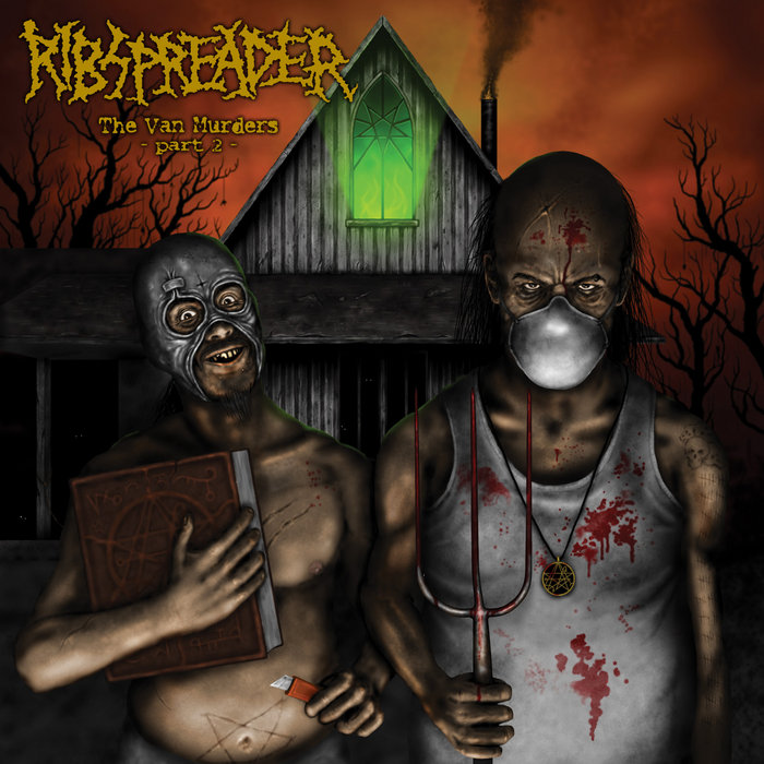 RIBSPREADER - THE VAN MURDERS PART 2 CD