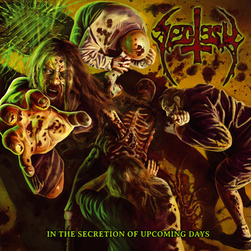SECTESY - IN THE SECRETION OF UPCOMING DAYS CD