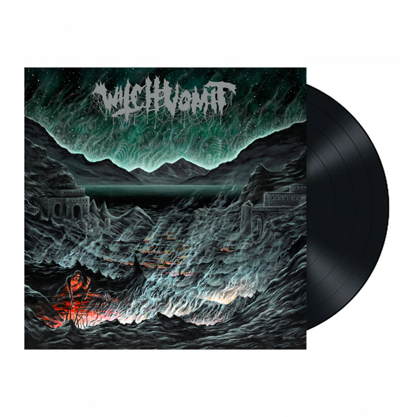 WITCH VOMIT - BURIED IN A BOTTOMLESS GRAVE LP