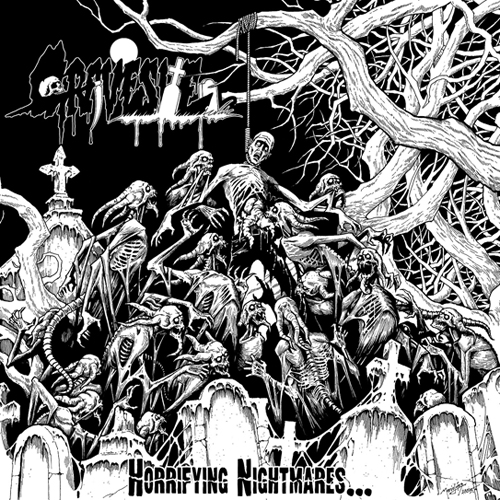 GRAVESITE - HORRIFYING NIGHTMARES... CD
