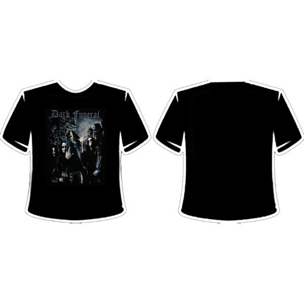 DARK FUNERAL - BAND PHOTO KIDS T-SHIRT